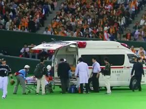 岩田 救急車