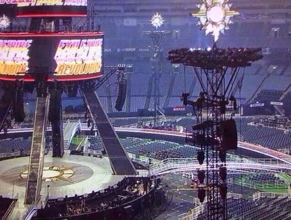 EXILE TRIBE 2014 TOW「REVOLUTION」の京セラドーム大阪の見え方