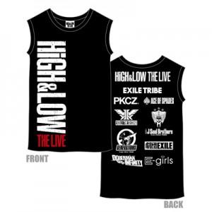 HiGH&LOW ノースリーブツアーTシャツ