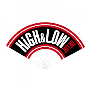 HiGH&LOW 扇子
