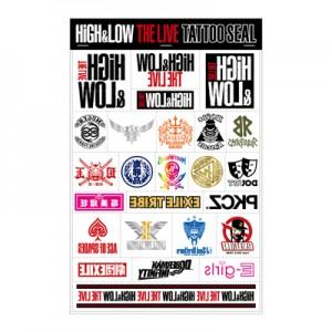 HiGH&LOW タトゥーシール
