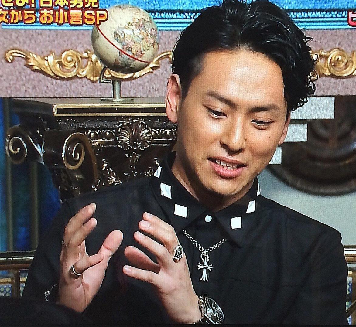 山下健二郎の私服ファッション9