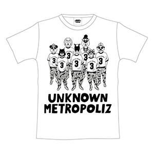 三代目JSB ライブ2017 グッズ UNKNOWN METROPOLIZ アニマルTシャツ