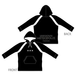 三代目JSB ライブ2017 グッズ UNKNOWN METROPOLIZ パーカー ブラック