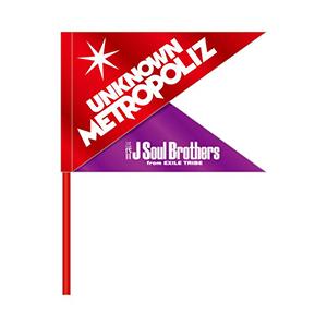 三代目JSB ライブ2017 グッズ UNKNOWN METROPOLIZ フラッグ