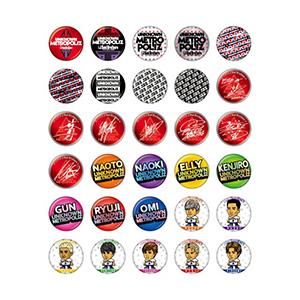 三代目JSB ライブ2017 グッズ UNKNOWN METROPOLIZ 缶バッジ