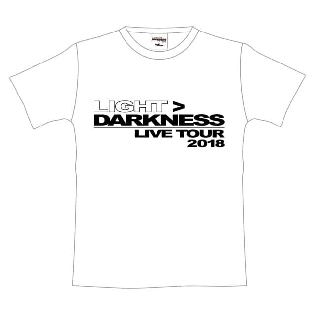 今市隆二 ライブグッズ 2018 LIGHT DARKNESS Tシャツ 白