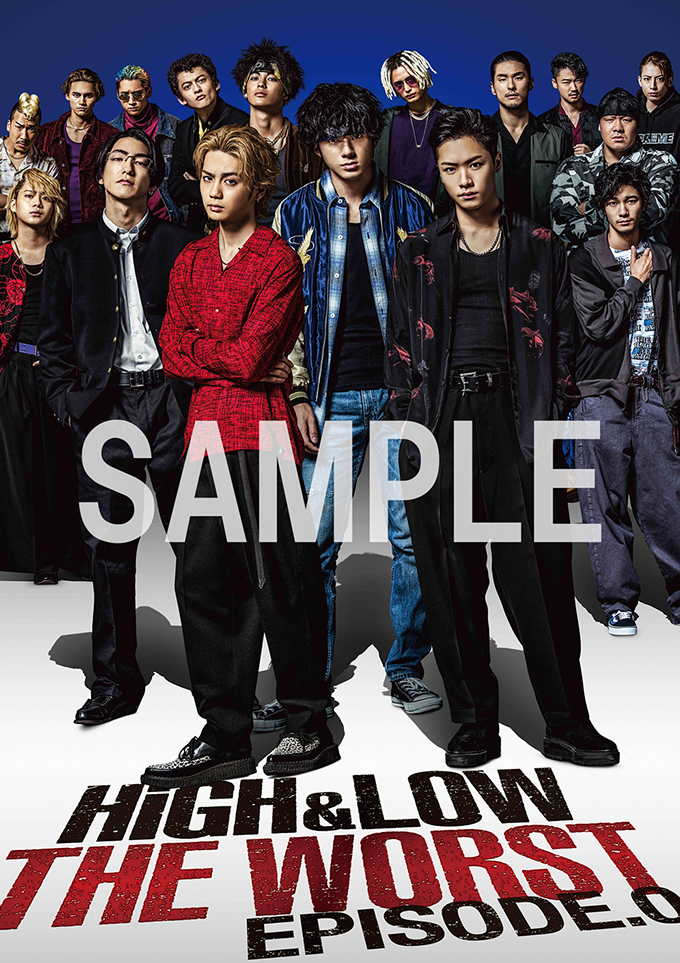 HiGH&LOW THE WORST EPISODE.0 DVD&Blu-ray