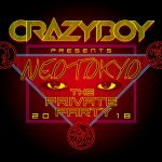 CRAZYBOYライブ『NEOTOKYO ~THE PRIVATE PARTY 2018~』日程解禁!チケット予約など全情報!