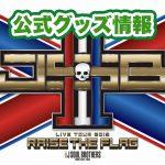 三代目JSBライブ2019「RAISE THE FLAG」グッズ情報!発売日、通販、会場限定など!